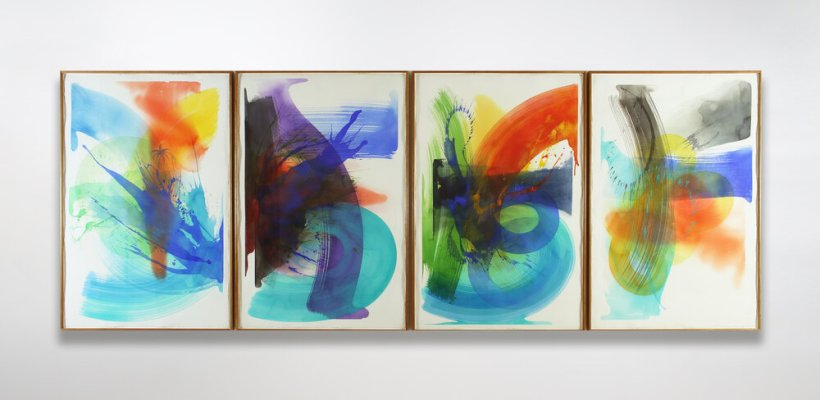 Bernard Jacobson Jan Exhibition