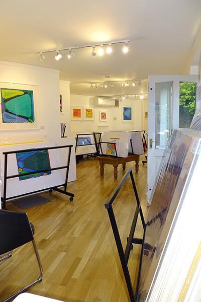 fine art print exhibition installation view advanced graphics london