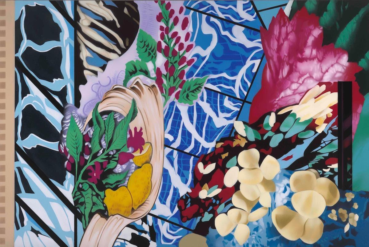fine art print image cristea roberts by Brendan Neiland Serendipity 2021 Acrylic on canvas 120 x 180cm
