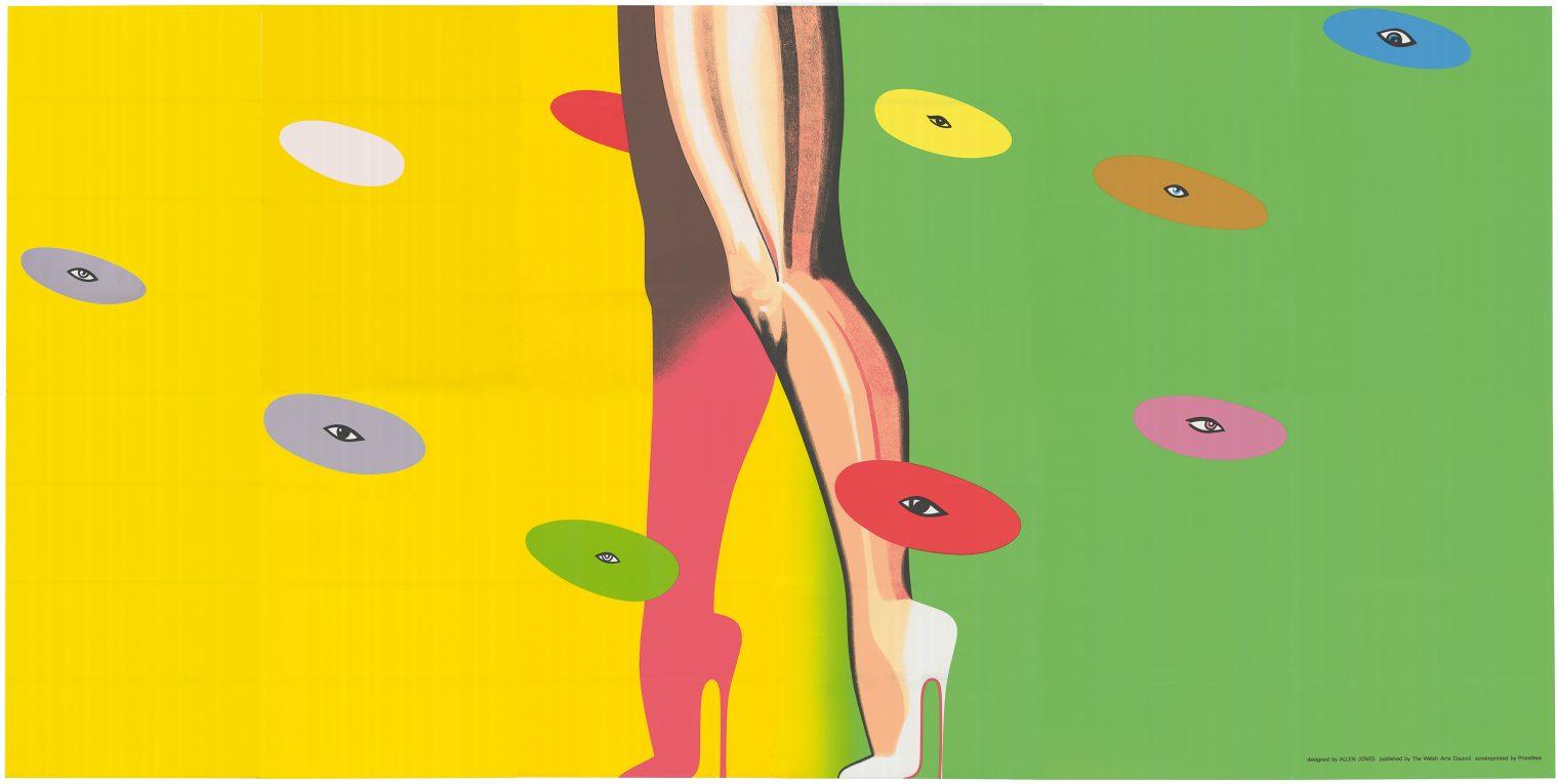fine art print by allen jones titled legs