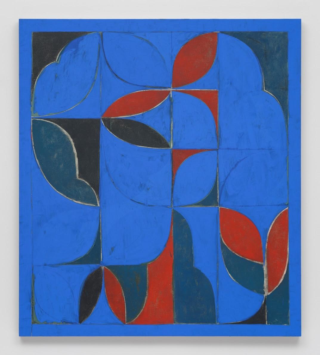 Kamrooz Aram, Untitled (Arabesque Composition), 2021
