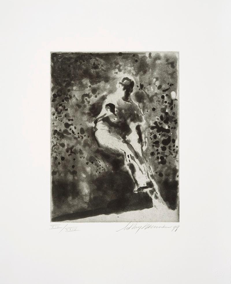 fine art print image of LeRoy Neiman, Payoff Pitch, 1999