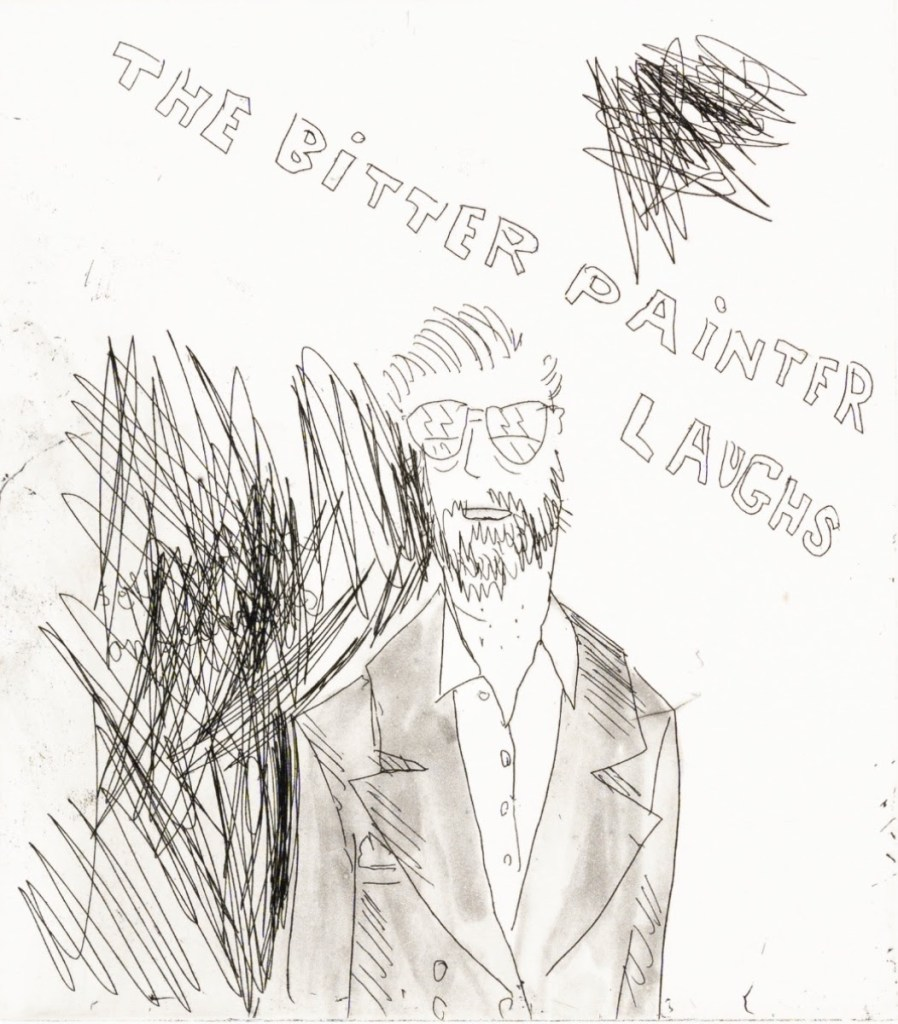 fine art print image of person and characters Ragnar Kjartansson, Sometimes I Don't Feel so Good, 2020