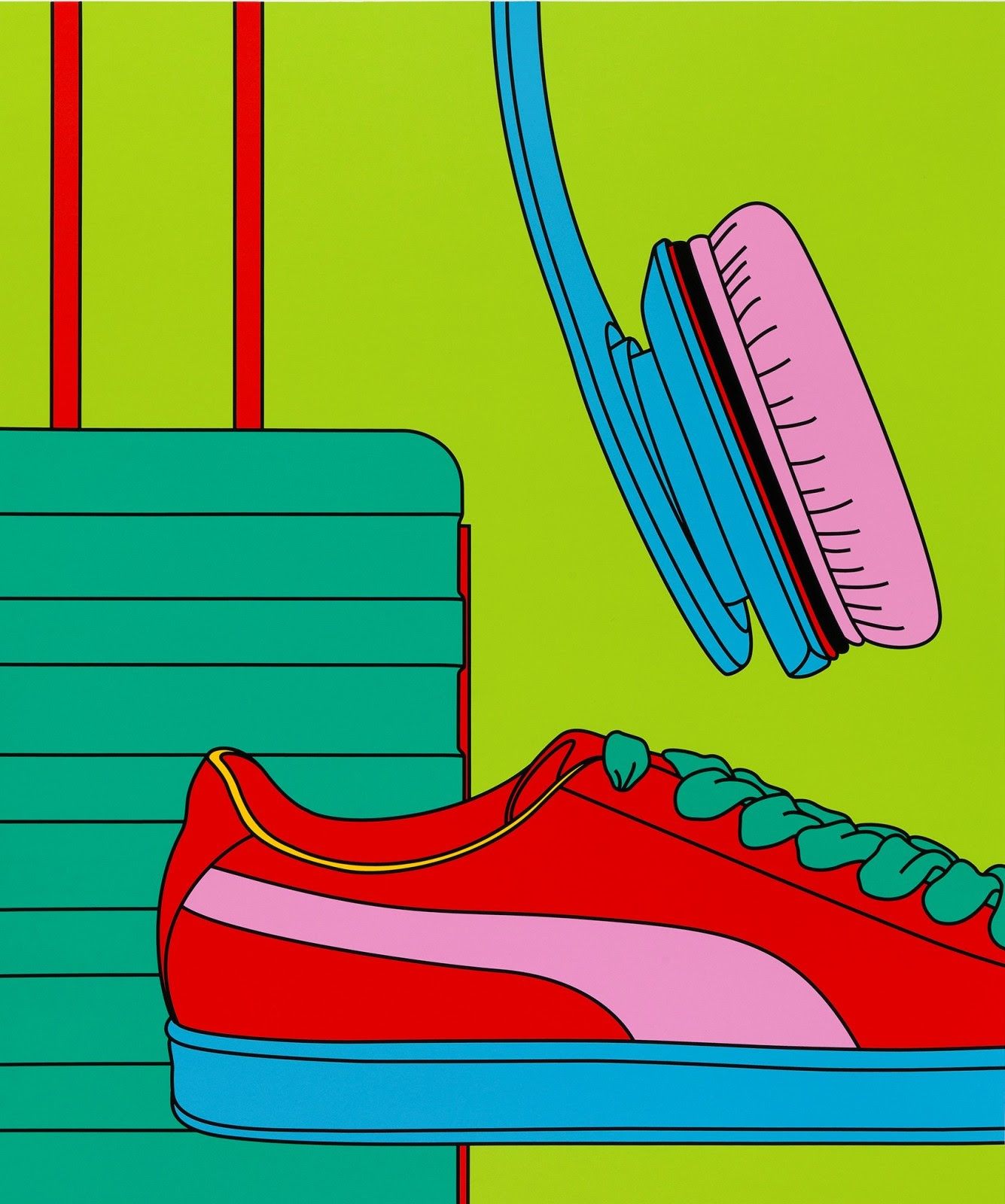 Michael Craig-Martin; Trainer from: Intimate Relations II, 2021